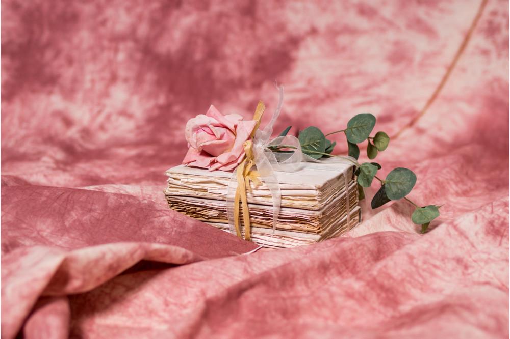 Фон дымчатый розовый Коралл