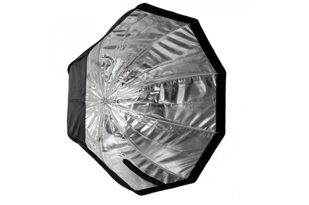 Октобокс зонтичный для накамерной вспышки 120 см