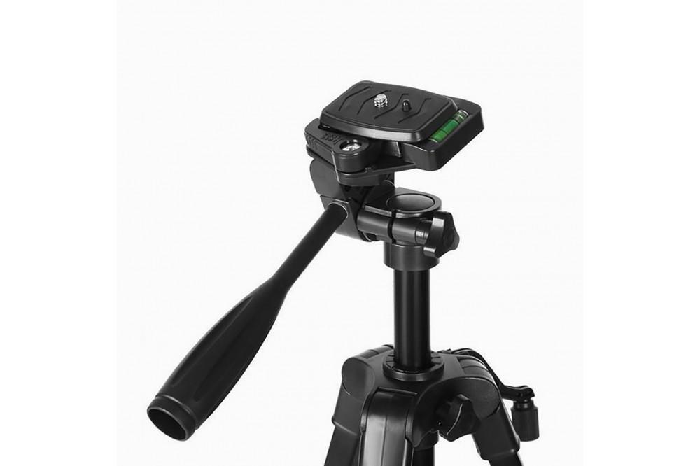 Компактный штатив для фотоаппарата, смартфона экшн камеры 140 см WT-3366