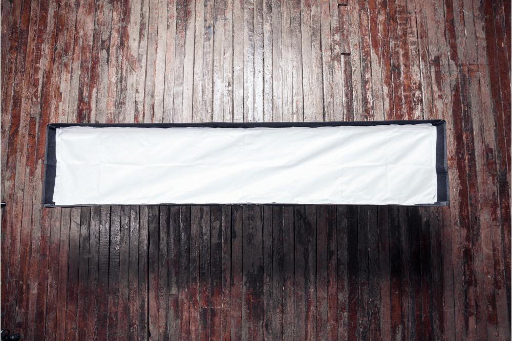 Стрипбокс 35x160 см с сеткой