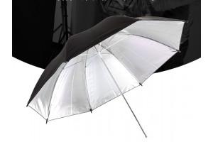Зонт на отражение серебро