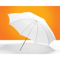 Зонт на просвет, белый 43 дюйма, 109 см
